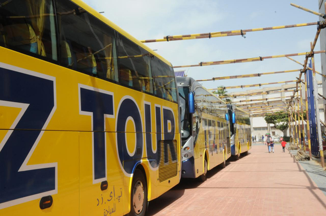 الأهلي يخصص 3 حافلات لنقل الأعضاء لـ «إستاد السلام»