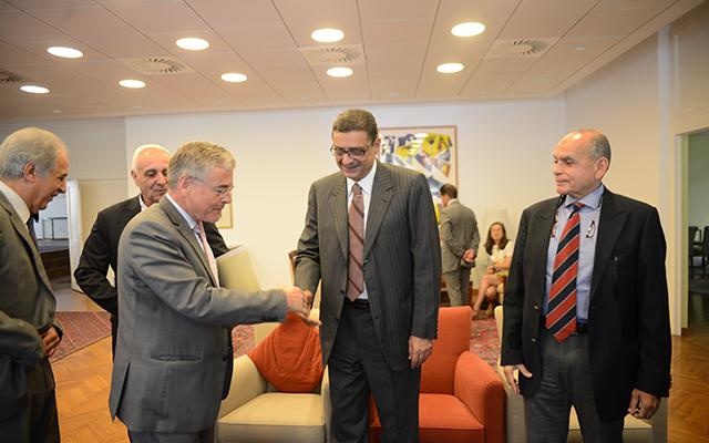 «طاهر» و«زاهر» في مؤتمر سفارة ألمانيا