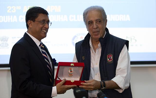 السفير الهندي: أشجع الأهلي بصفته أكبر الأندية المصرية و الأفريقية