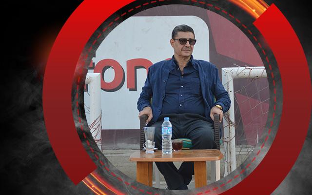 محمود طاهر يؤازر الأهلي قبل مباراة طنطا