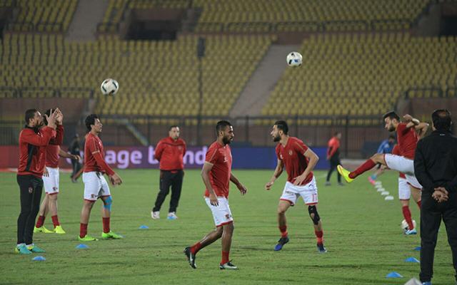 مران استشفائي اليوم للاعبين المشاركين في مباراة الداخلية