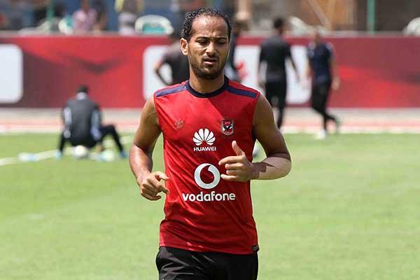 وليد سليمان يغيب عن مباراة طنطا بسبب «الضّامة»