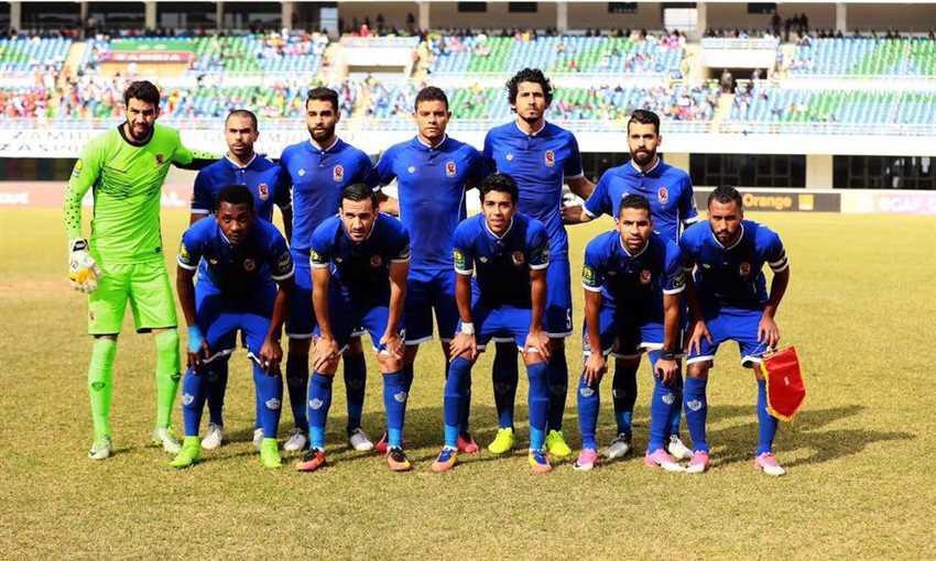 قائمة النادي الأهلي من اجل مباراة المصري