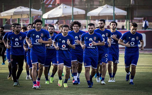 وصول المنتخب التونسي إلى برج العرب إستعدادا لمواجهة الفراعنة الجمعة