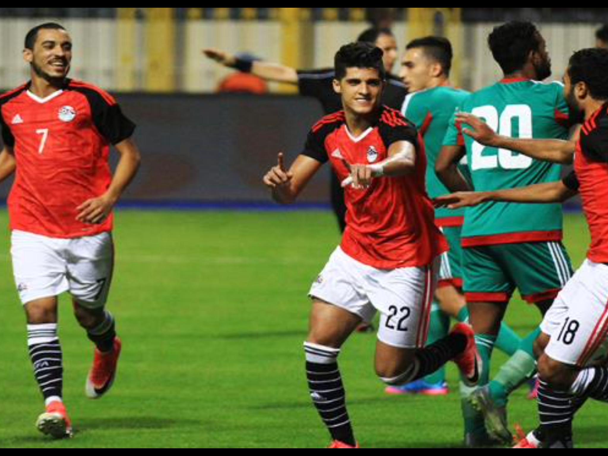 نتيجة مباراة منتخب مصر المحليين مع منتخب المغرب