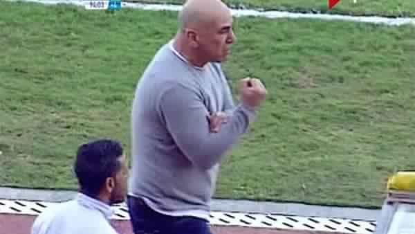 شاهد بالفيديو تصرف غير لائق من حسام حسن بعد الفوز على بتروجيت