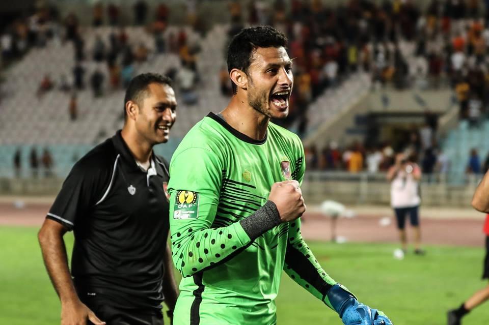 الاتحاد الأفريقي يشيد بمحمد الشناوي احسن حارس مرمى في كأس الأمم الأفريقية