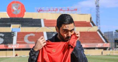 طبيعة اصابة حسين الشحات في مباراة منتخب مصر الودية