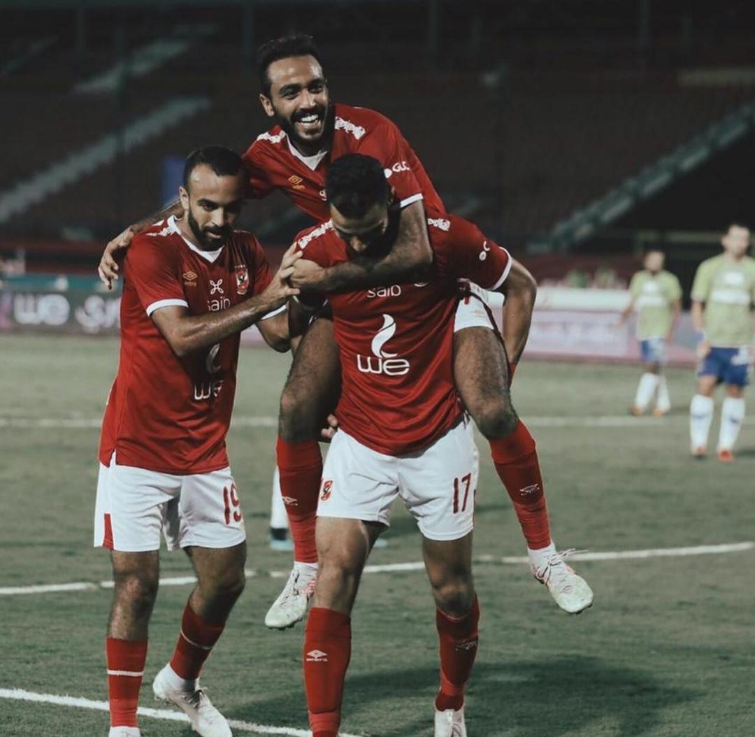 اصابة كهربا و صالح بكورونا تشعل القلق داخل النادي الأهلي